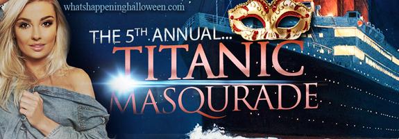 5th Annual Titanic Masquerade San Diego Halloween Yacht Party