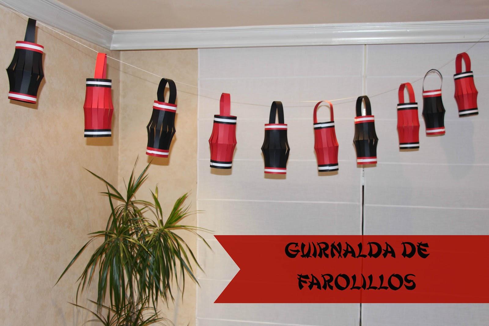Mardefiesta farolillos de papel for Farolillos de decoracion