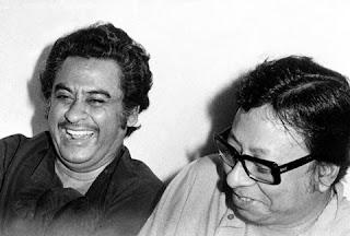 Kishore Kumar with Rahul Dev Burman