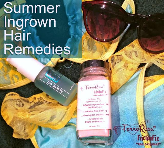 Summer ingrown hair remedies
