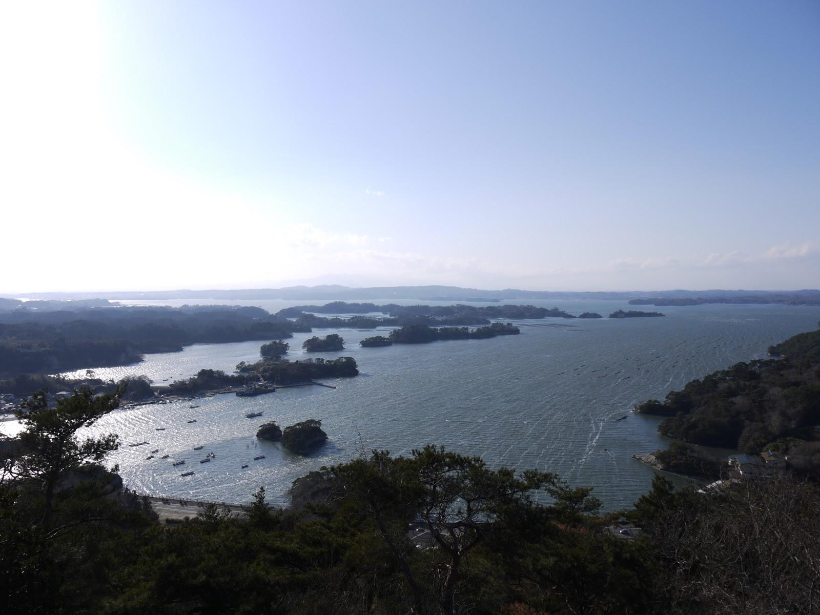 松島の四大観の壮観・大高森