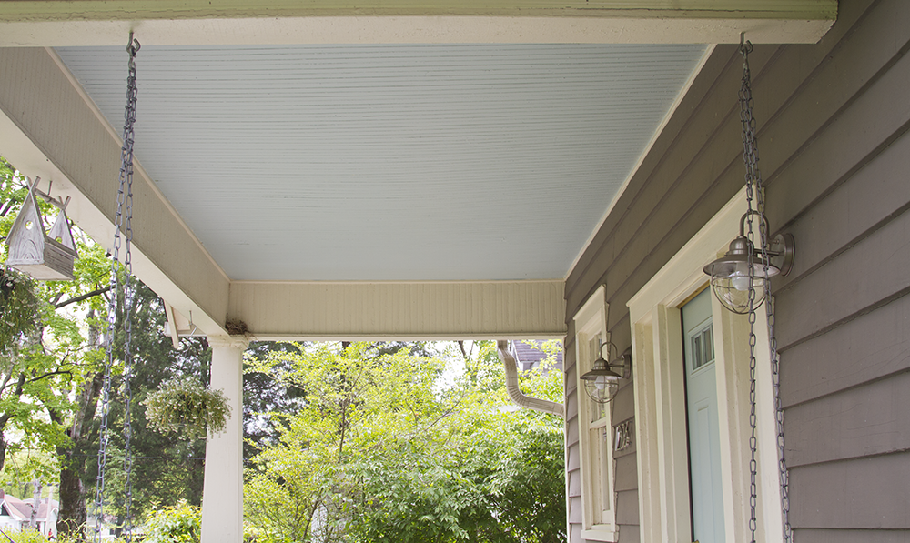 Black and White and Loved All Over: A Haint Blue Porch