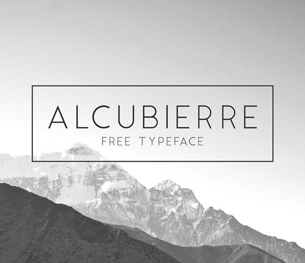 Alcubierre Free Font
