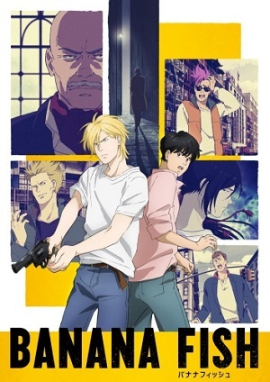 Banana Fish - Legendado Desenhos Torrent Download capa
