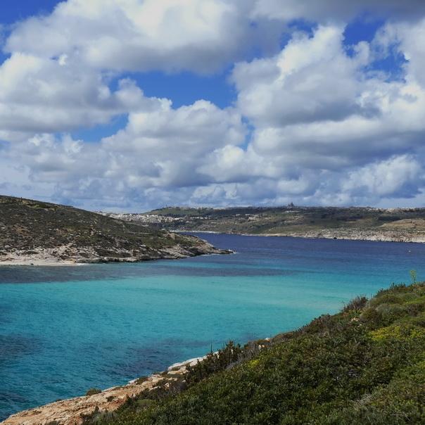 Comino, Gozo, Malta, Wolken, Himmel, Meer, Insel, Sicht