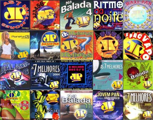 Coleção Jovem Pan 84 CDs entre 1994 até 2016