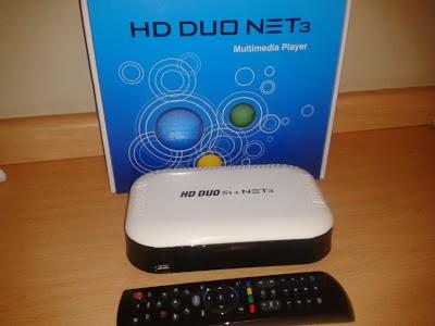 ATUALIZAÇÃO HD DUO S3 PARA VOLTAR CANAIS HD 09/02/2014