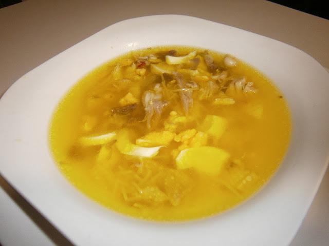 Sopa de pollo (Tradicional)