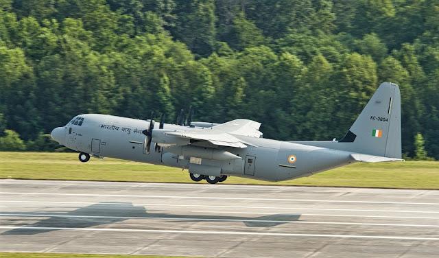 Lockheed Martin C-130J indian air force