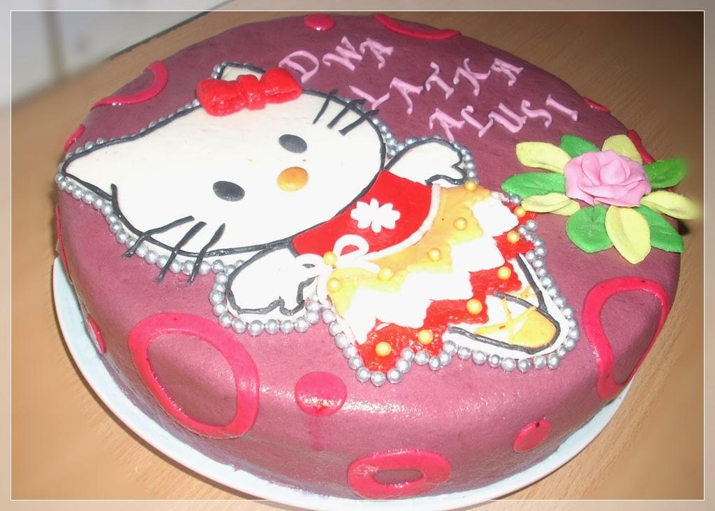 Słodki Zaułek Tort Hello Kitty Kotek Cake