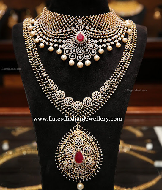 Latest Diamond Set from Malabar