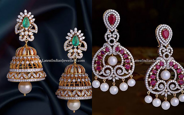 Jhumkas Chandbalis from Vasundhara