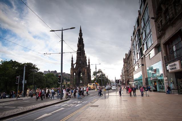 Edimburgo-Princes street