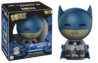 "Specialty Series Exclusive ""Blackest Night"" Batman DC Comics Dorbz Vinyl Figure by Funko"