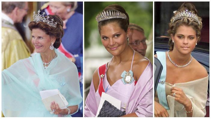 Tiara Thursday Tiaras At Haakon Mette Marit S Wedding
