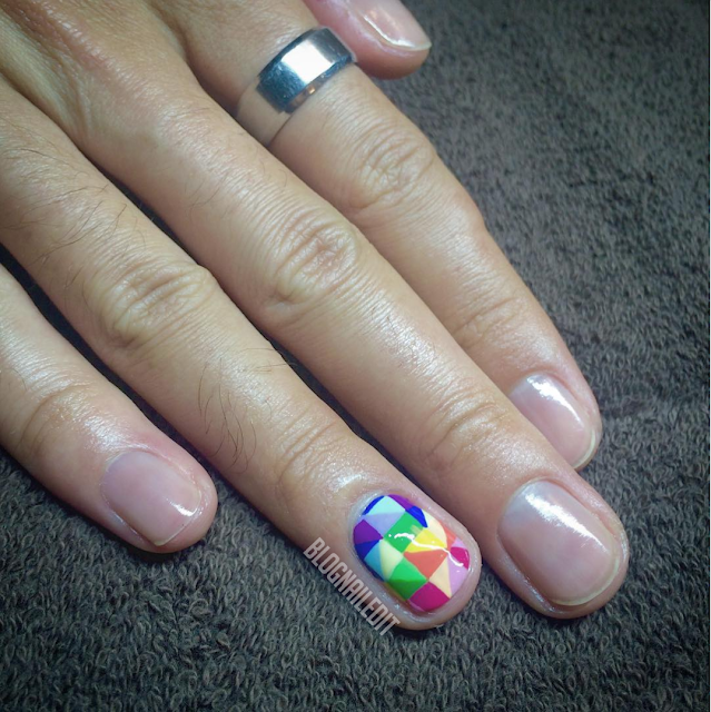 Gay Pride Nails by Nailed It @ www.blognailedit.co