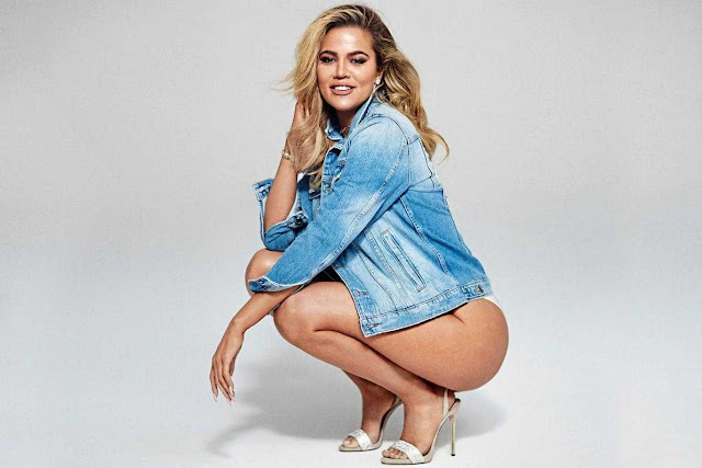 Khloe Kardashian for Evening Standard 2017