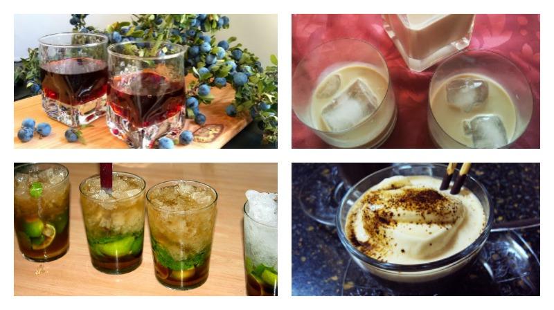 bebidas para sobremesas