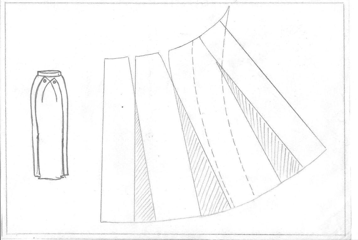 Conosciuto FASHION & SARTORIA: MODELLISTICA GONNE CE57