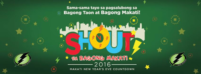 "Makati all set for ""Shout"" New Year's Eve Countdown 2016"