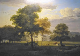 Saltram from the South West by Philip Hutchins Rogers (c1813)