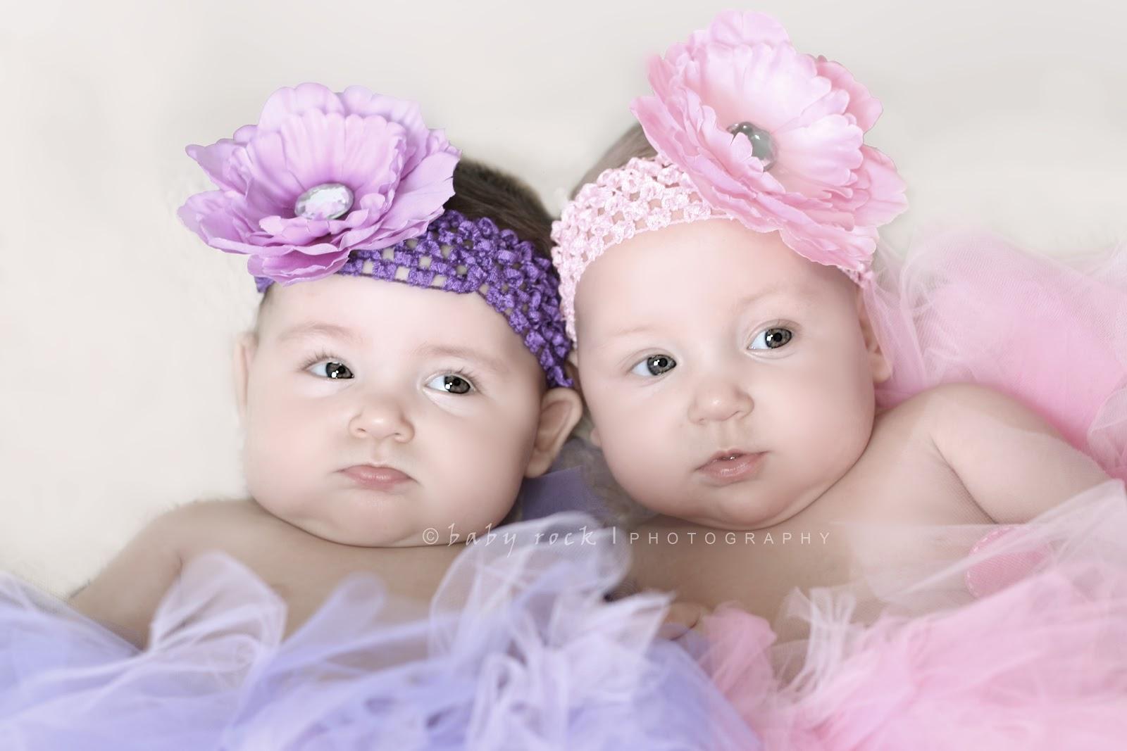 Foto Anak Kembar Lucu Imut