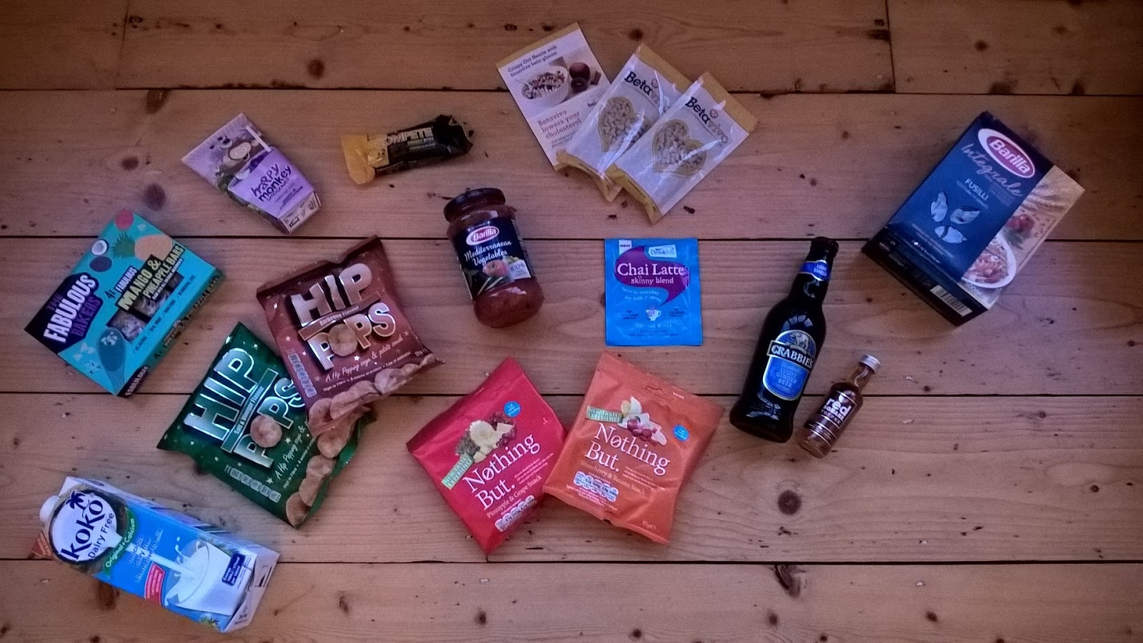 Contents of January Degustabox - Food Subscription Boxes - motherdistracted.co.uk