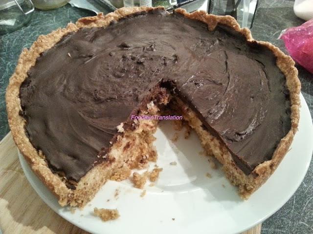 Crostata integrale cocco-cioccolato
