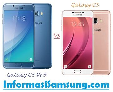 Perbandingan Samsung Galaxy C5 Pro vs C5