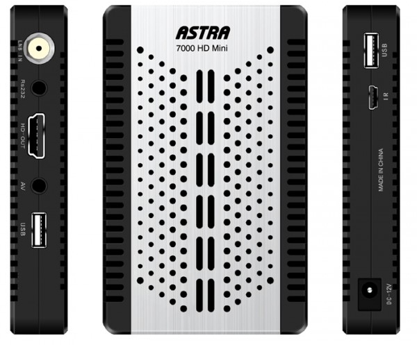 احدث سوفت وير لجهاز Astra 7000 HD Mini