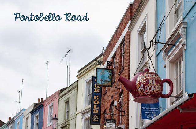 Portobello road london