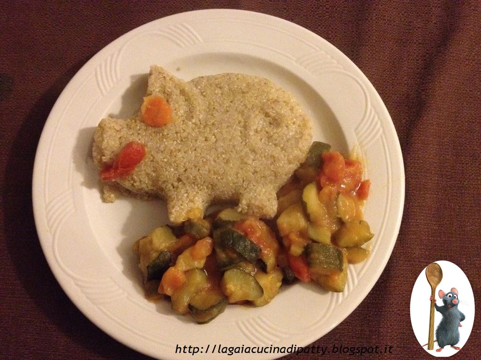 LA GAIA CUCINA DI PATTY...: Maialino di Quinoa con verdure miste
