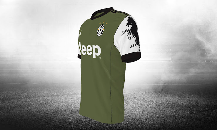 8b774e7df Top 100 Juventus 17-18 Third Kits Revealed - Footy Headlines