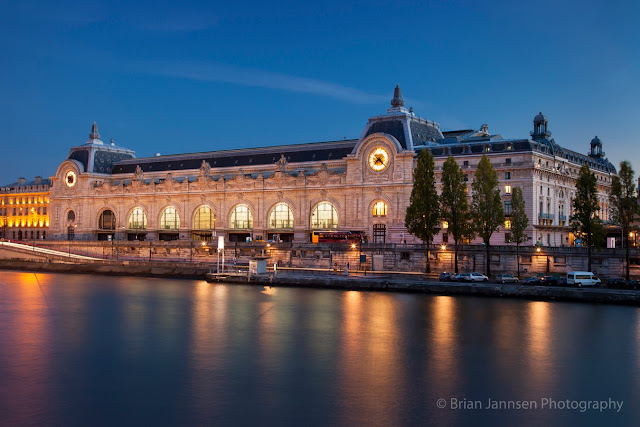Formerly the Gare d'Orsay railway station, the Musée d'Orsay is the home to French Impressionism.