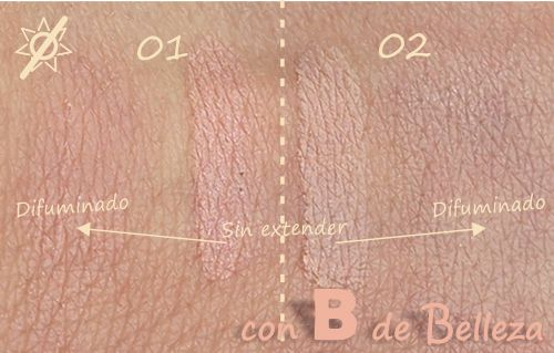 Swatches iluminador Mercadona