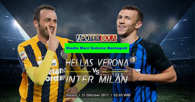 Hellas Verona vs Inter Milan 31 Oktober 2017