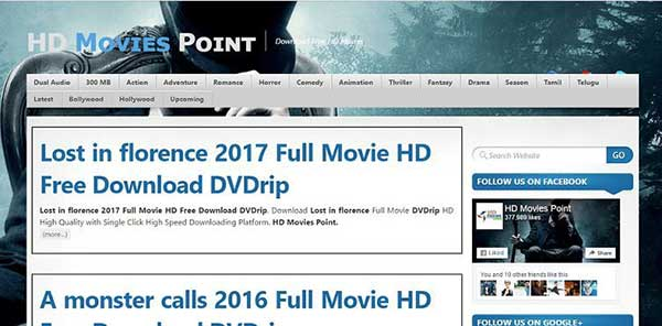 HDMoviesPoint: 40 Sites like OnlineMoviesCinema| Best alternatives to OnlineMoviesCinema