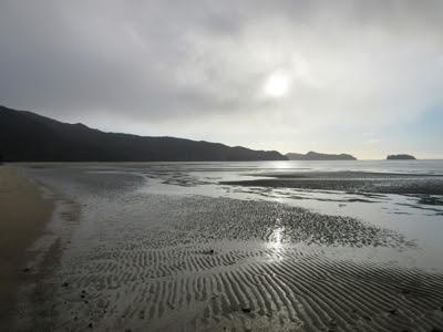 Playa de Marahau, Parque Nacional Abel Tasman, Nueva Zelanda