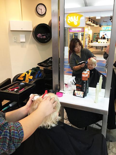 lathams news a haircut