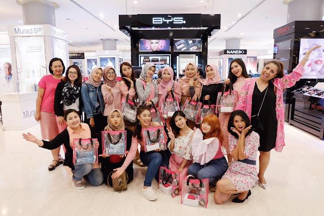 Grand Opening BYS Cosmetics Store Bandung
