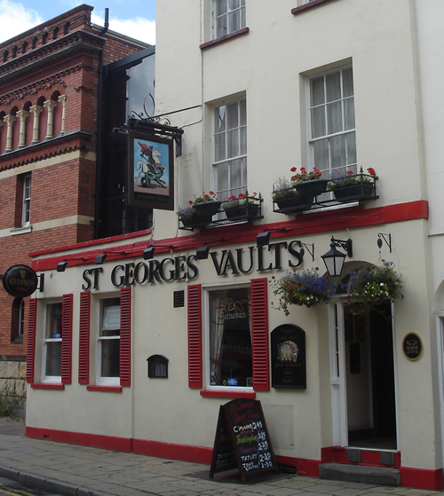 SPIRITS FROM FORMER EXECUTION CELLS HAUNTING PUB