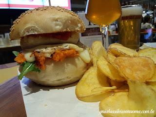 eataly hamburger vegetariano guia brasileira roma - Eataly - comer em Roma