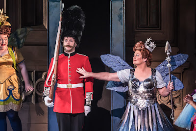G&S: Iolanthe - Claire Pendleton, Barnaby Rea, Yvonne Howard - English National Opera (Photo Clive Barda)
