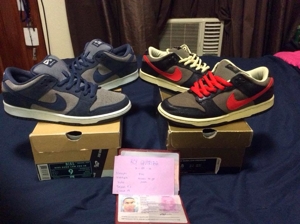 big sale 8a37c 812ba Nike SB For Sale: Dunk Low Thunder and Atom Red | Skate ...