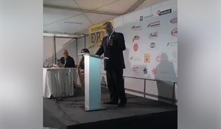 Ομιλία Πατούλη στην Πελοπόννησο EXPO - Βραβεύτηκε για την προσφορά του στον ιατρικό τουρισμό της χώρα μας