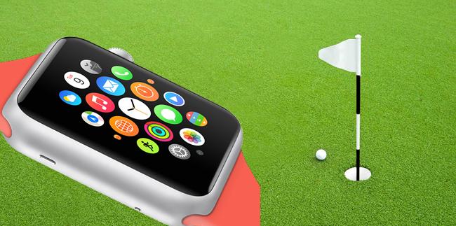 Apple Watchとゴルフナビ