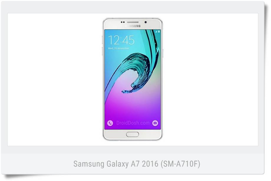 Download firmware Samsung Galaxy A7 2016 (SM-A710F)