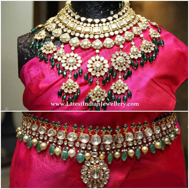 Bridal Necklace Vaddanam from Kalasha
