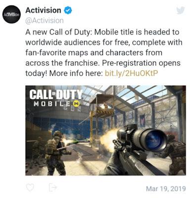 لعبة Call Of Duty Mobile قادمة رسميا للهواتف الذكية، تعرف على التفاصيل