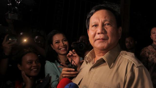 Prabowo soal Cawapres: Tolong Kasih Saya Kesempatan untuk Musyawarah
